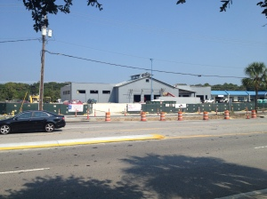 Harris Teeter under construction on the Isle of Palms